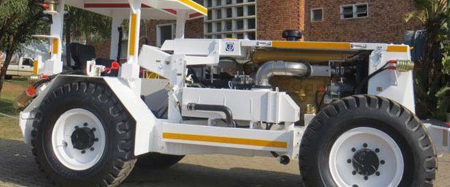Underground Hauler (Tractor) 2
