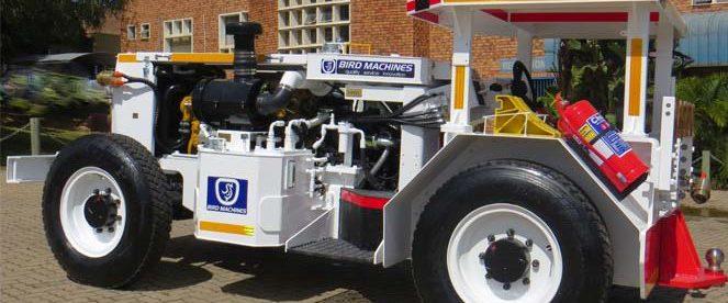 Underground Hauler (Tractor)