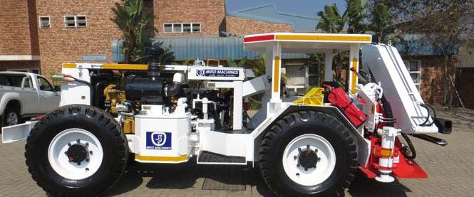 Underground Hauler (Tractor) - with Crane