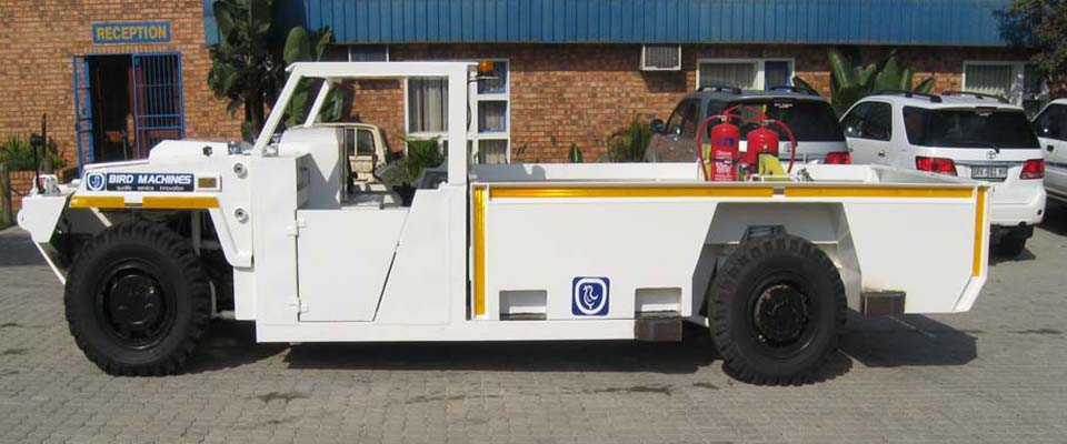 Underground Light Duty Utility Vehicle - Personnel Carrier