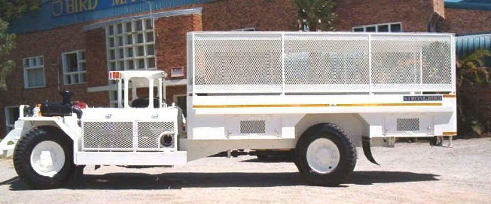 Underground Medium Duty Utility Vehicle - Personnel Carrier