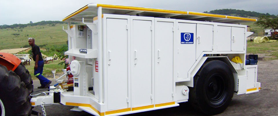 Underground Trailer - Maintenance Unit
